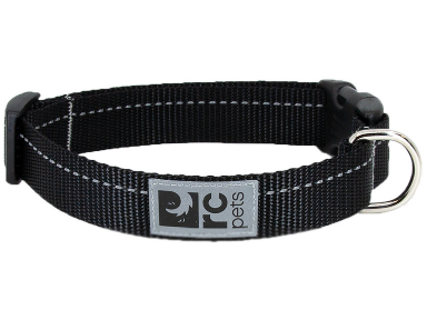 RC Pets Primary Clip Collar Black