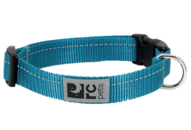 RC Pets Primary Clip Collar Teal