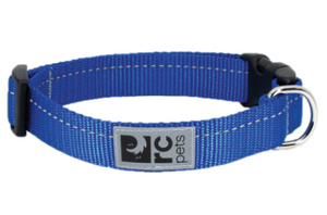 RC Pets Primary Clip Collar Royal Blue