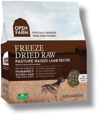 Open Farm Freeze Dried Raw Lamb