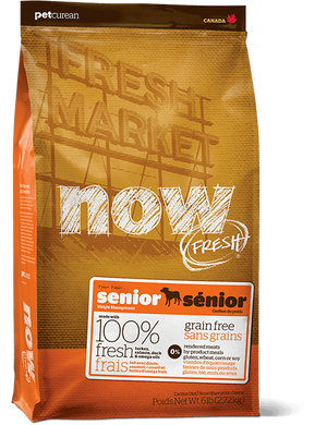 Now Senior Dog Food