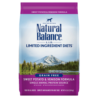 Natural Balance Sweet Potato & Venison 4.5 lb
