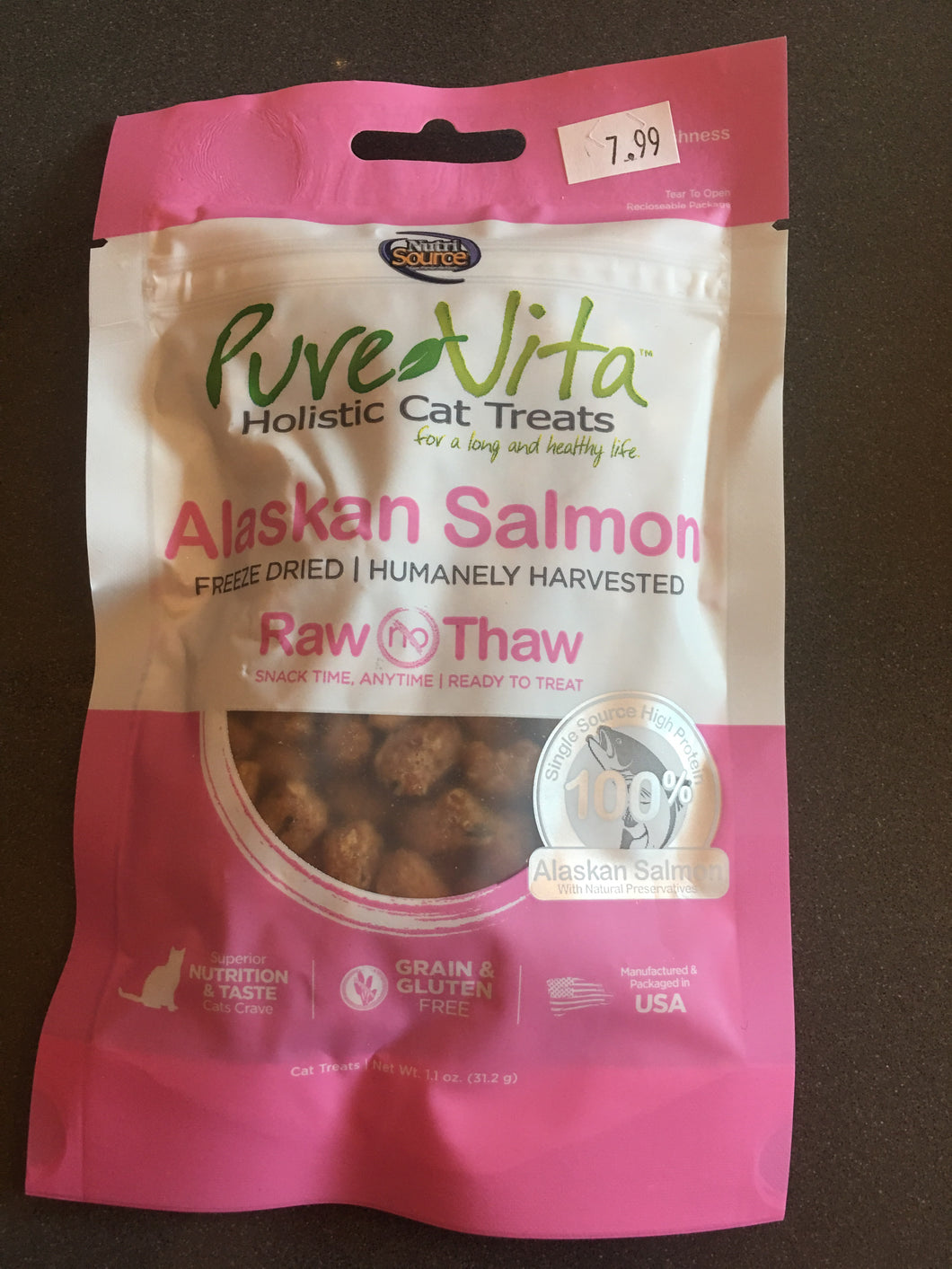 PureVita FD Alaskan Salmon CAT Treats