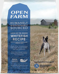 Open Farm Grain Free Dry Dog Food WHITEFISH