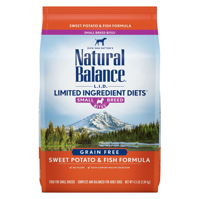 Natural Balance Sweet Potato & Fish Small Breed 4lb
