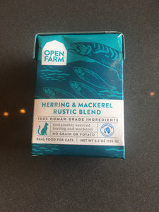 Open Farm CAT Rustic Blend Herring & Mackerel 5.5oz