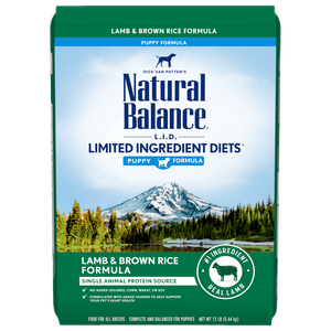 Natural Balance Lamb & Brown Rice 4 lb