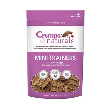 Crumps Mini Trainers CHIC Snaps 250g