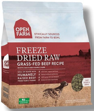 Open Farm Freeze Dried Raw Beef
