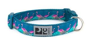 RC Pets Clip Collar Flamingos