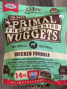 Primal Freeze-dried Nuggets 5.5 oz CAT CHICKEN & SALMON