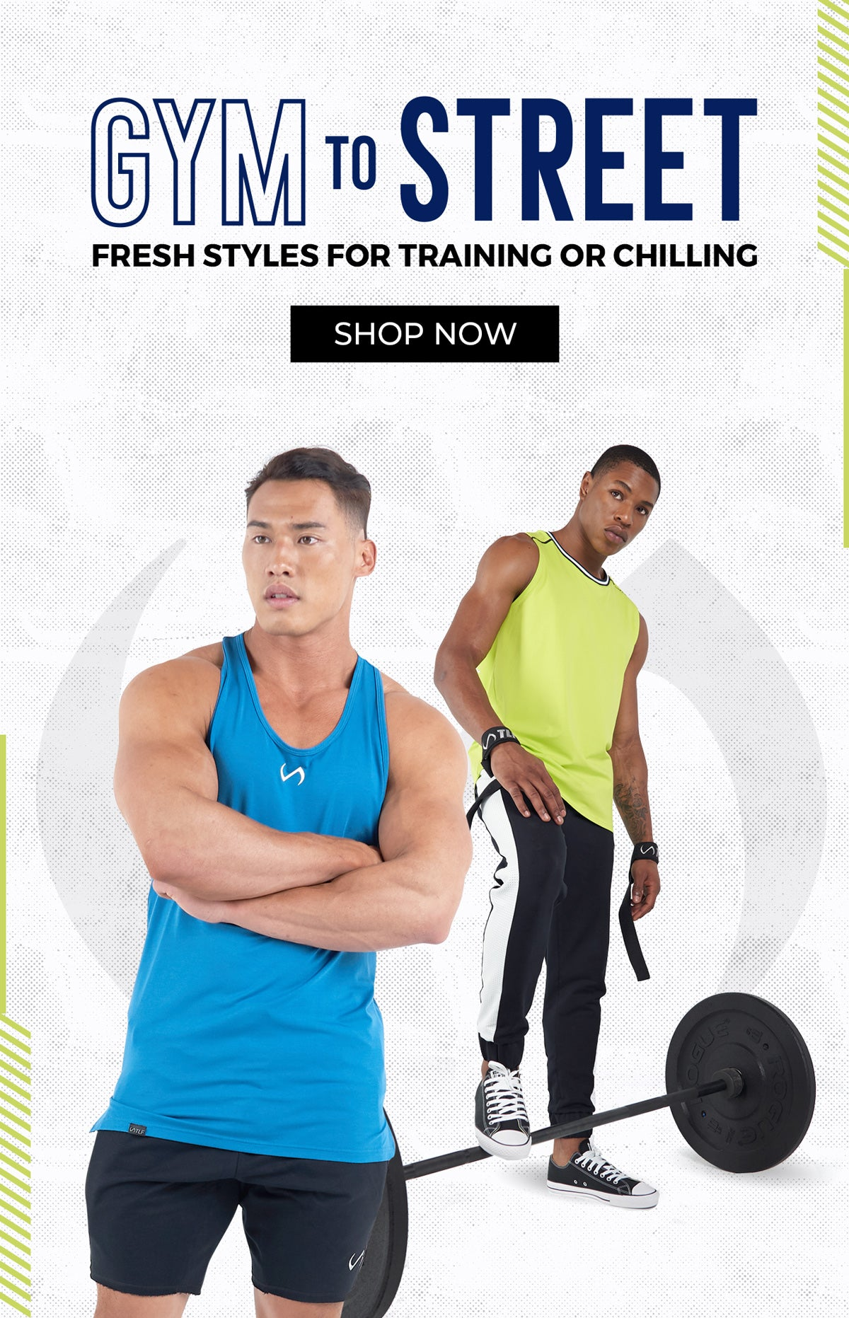 Men's Gym To Street - New Releases