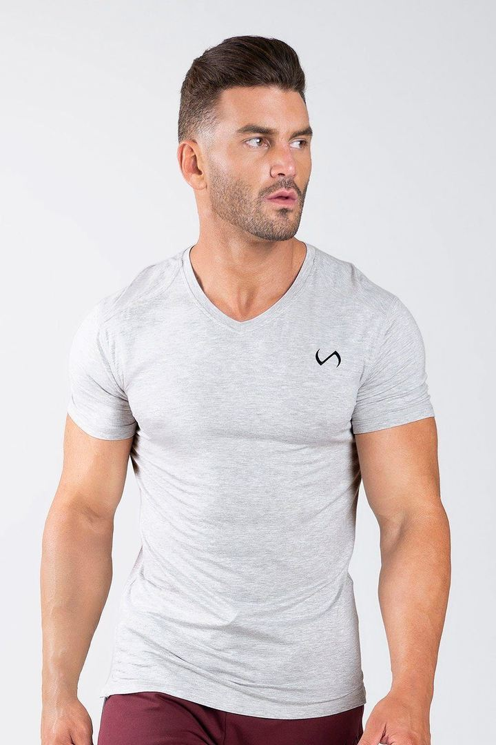 TLF Focus Performance Bamboo V-Neck - Short Sleeves - TLF Apparel | Take Life Further
