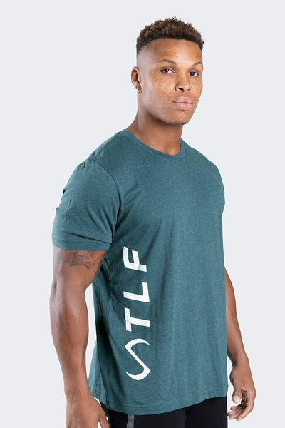 TLF Apparel - Elevate T-Shirt - MEN GRAPHIC T-SHIRTS - Heather Deep Teal / SHeather Deep Teal / MHeather Deep Teal / LHeather Deep Teal / XLHeather Deep Teal / 2XL