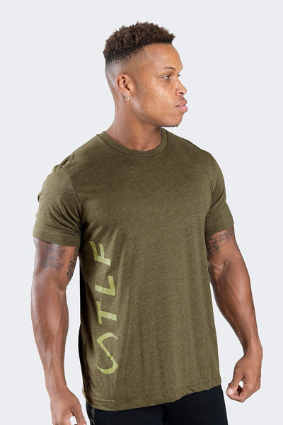 TLF Apparel - Elevate T-Shirt - MEN GRAPHIC T-SHIRTS - Heather Olive / SHeather Olive / MHeather Olive / LHeather Olive / XLHeather Olive / 2XL