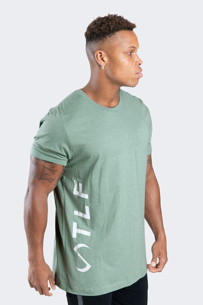 TLF Apparel - Elevate T-Shirt - MEN GRAPHIC T-SHIRTS - Heather Prism Dusty Blue / SHeather Prism Dusty Blue / MHeather Prism Dusty Blue / LHeather Prism Dusty Blue / XLHeather Prism Dusty Blue / 2XL