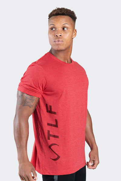 TLF Apparel - Elevate T-Shirt - MEN GRAPHIC T-SHIRTS - Heather Red / SHeather Red / MHeather Red / LHeather Red / XLHeather Red / 2XL