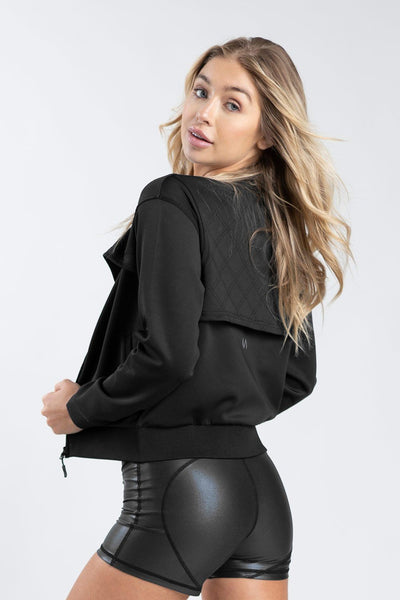 TLF Asteria Bomber Jacket - WOMEN HOODIES-SWEATSHIRTS & JACKETS - TLF Apparel | Take Life Further