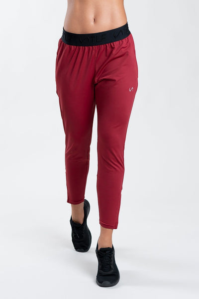 TLF Apparel - Legacy Low-Mid Rise Workout Joggers - WOMEN JOGGERS & PANTS - Ruby / XSRuby / SRuby / MRuby / LRuby / XL