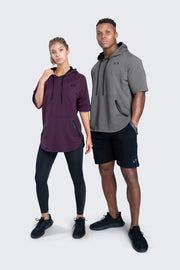 TLF Pivotal Short Sleeve Hoodie - WOMEN HOODIES-SWEATSHIRTS & JACKETS, MEN HOODIES-SWEATSHIRTS & JACKETS - TLF Apparel | Take Life Further