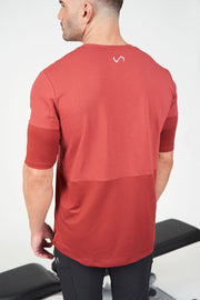 TLF Air-Flex 3/4 Sleeve Training T-Shirt - Crimson