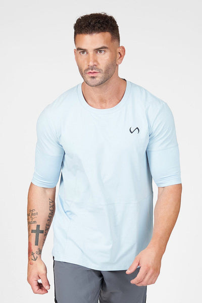TLF Air-Flex 3/4 Sleeve Training T-Shirt - Blue Fog