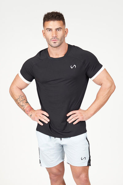 TLF Apparel - Air-Flex Classic Tee - MEN TOPS & SHORT SLEEVES - Black / SBlack / MBlack / LBlack / XLBlack / 2XL