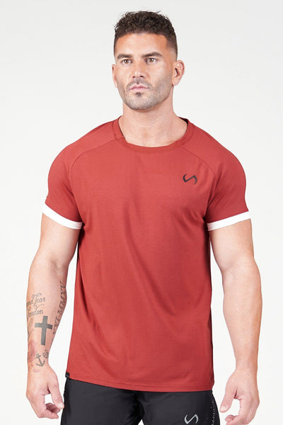 TLF Apparel - Air-Flex Classic Tee - MEN TOPS & SHORT SLEEVES - Crimson / SCrimson / MCrimson / LCrimson / XLCrimson / 2XL