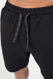 TLF Air-Flex French Terry Shorts - Black
