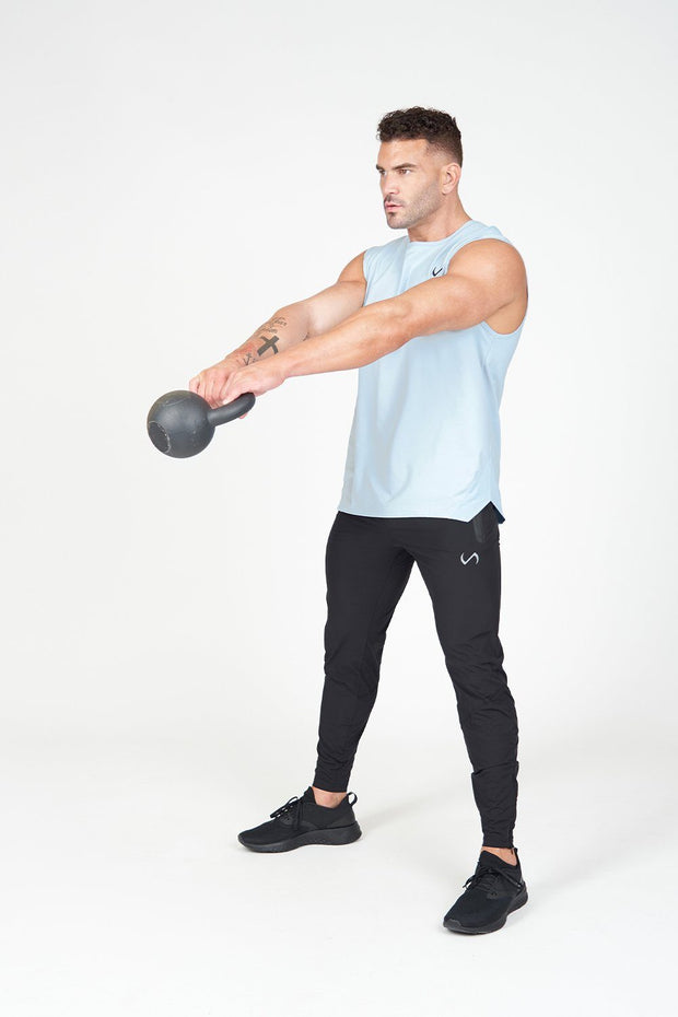 TLF Air-Flex Gym Tank - Blue Fog