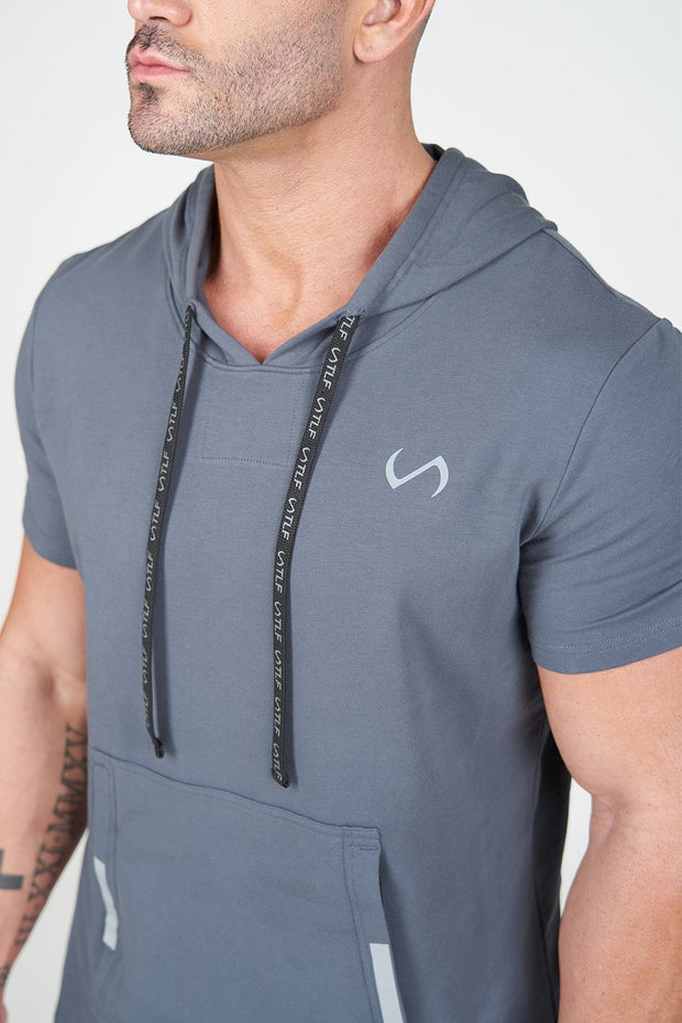 Air-Flex Short Sleeve Gym Hoodie