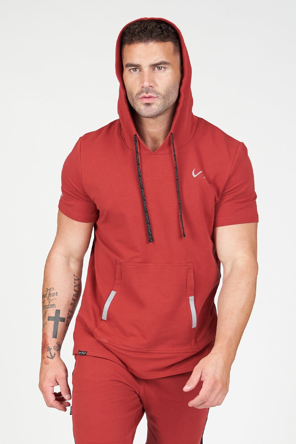 TLF Air-Flex Short Sleeve Gym Hoodie - TLF Apparel | Take Life Further