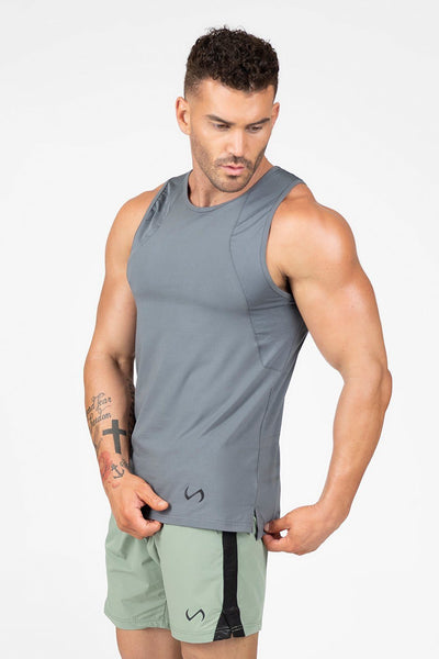 TLF Apparel - Air-Flex Workout Tank - MEN TANK TOPS & SLEEVELESS - Turbulence / STurbulence / MTurbulence / LTurbulence / XLTurbulence / 2XL
