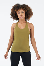 TLF All-Day Ease Racerback Tank - Lizard