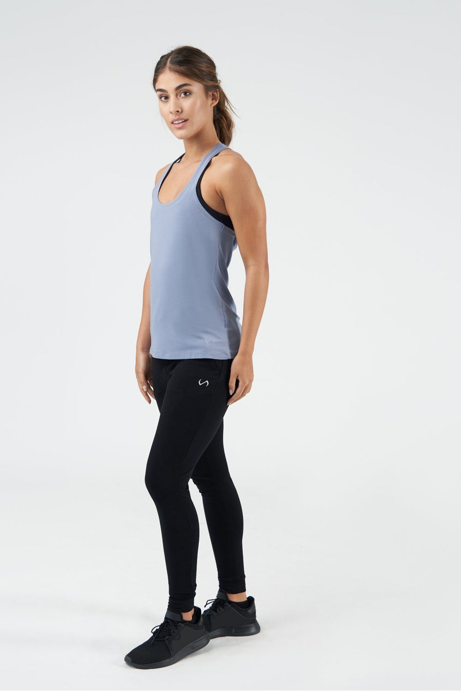 TLF All-Day Ease Racerback Tank - Titanium