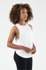 TLF All-Day Ease Training Tank - White