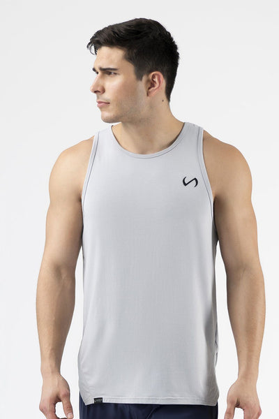 TLF Apparel - Camo Athletic Tank Top - MEN TANK TOPS & SLEEVELESS - Silver / SSilver / MSilver / LSilver / XLSilver / 2XL