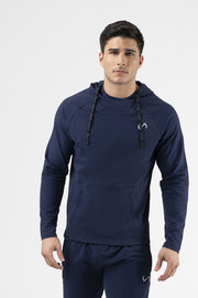 TLF Camo French Terry Workout Hoodie - Navy