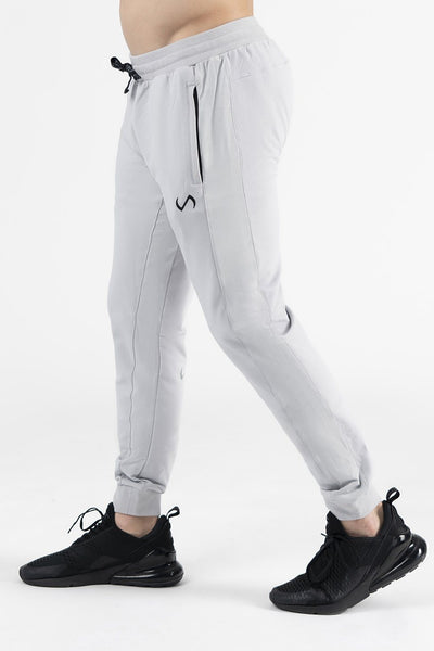 TLF Camo French Terry Workout Joggers - Silver