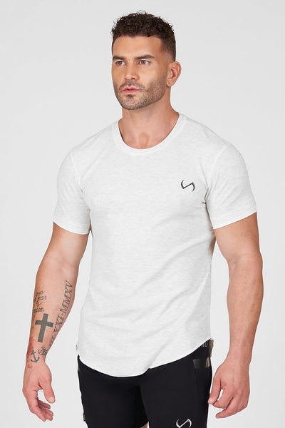 TLF Core Classic Tee - Oatmeal Grey Heather