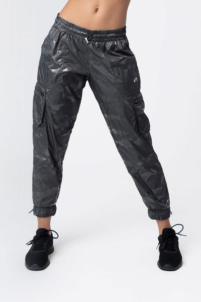 "TLF Covert Camo Gym-To-Streetâ""¢ Joggers - Black Camo"