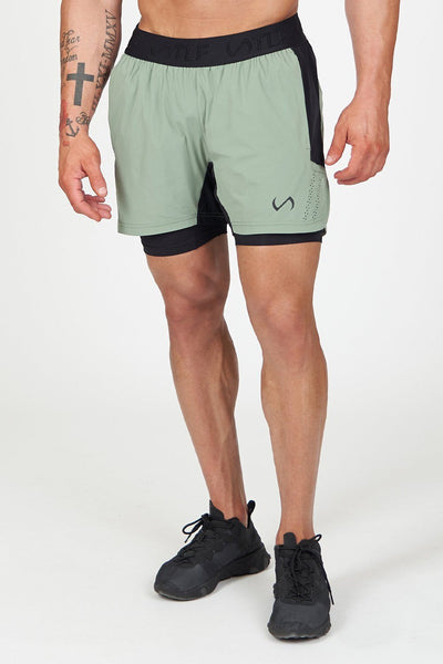 TLF Element Air-Flex 2 In 1 Shorts - Sea Spray