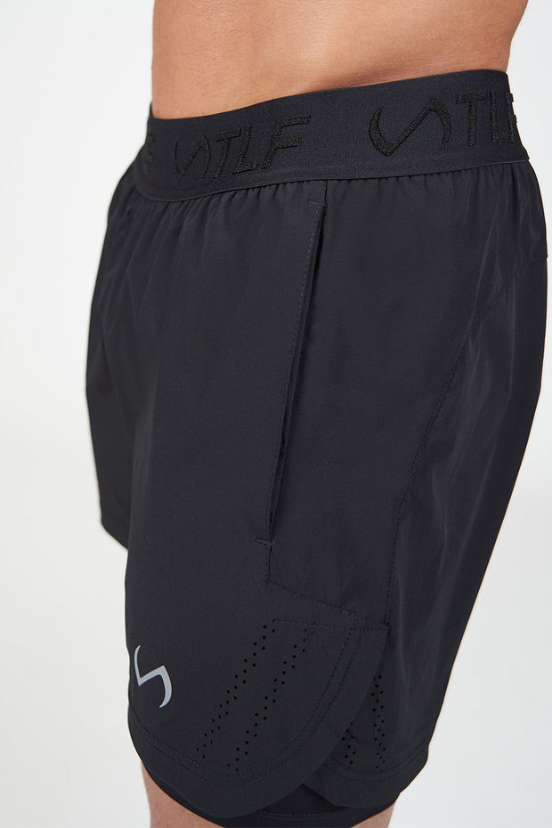 TLF Element Air-Flex 2 In 1 Shorts - Black
