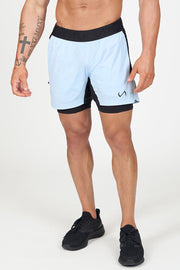 TLF Element Air-Flex 2 In 1 Shorts - Blue Fog