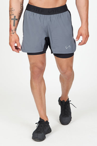 TLF Element Air-Flex 2 In 1 Shorts - Turbulence