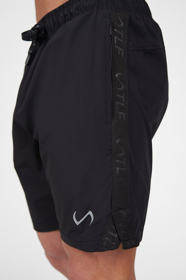 TLF Element Air-Flex Gym Shorts - Black
