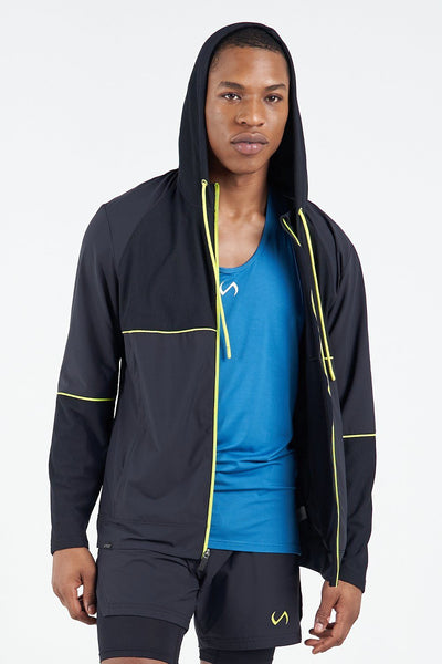 TLF Apparel - Element Techne Zip-Up Jacket - MEN HOODIES-SWEATSHIRTS & JACKETS - Black / SBlack / MBlack / LBlack / XLBlack / 2XL
