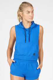 Emerge Sleeveless Gym Hoodie