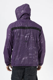 TLF Gym-To-Street Camo Pullover Hoodie - Regal Purple