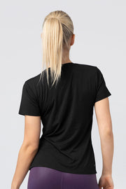 TLF Primal Short Sleeve Workout Shirt - Black
